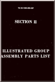 Sikorsky ARMY CH-34 A, C  Helicopter Illustrated Group Assembly Manual   , TM 55-1520-202-35P
