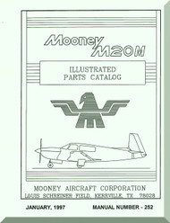 Mooney M.20 M Aircraft Illustrated  Part Manual - 1987