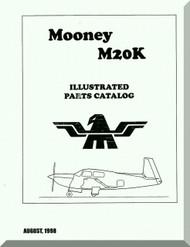 Mooney M.20 K Aircraft Illustrated  Part Manual - 1998