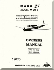 Mooney M.20 C Aircraft Owner Manual - 1965