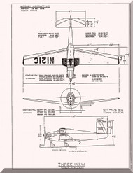 Mooney M.18 Mite Aircraft  Illustrated Parts Manual  - 1950