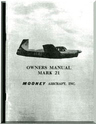 Mooney M.20 C  Aircraft Owner Manual  - 1963