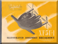 Vought XF5U-1 Aircraft Illustrated Assembly Manual - 1946