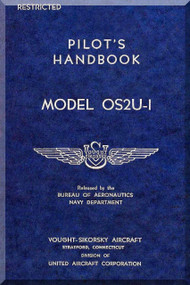VOUGHT OS2U1  Aircraft Flight Manual - Pilot Handbook