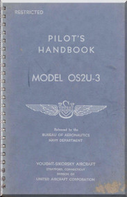 Vought Sikorsky OS2U-3 Aircraft Flight Handbook Manual
