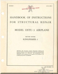 Vought Sikorsky OSTU-3 Kingfish 1 Aircraft Structural Repair Manual