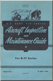 Boeing B-17  Aircraft Inspection and Maintenance Guide  Manual -  00-20A-2-8-17 -   1944
