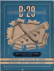 Boeing B-29 Aircraft Blueprints Handbook  Manual -   1944