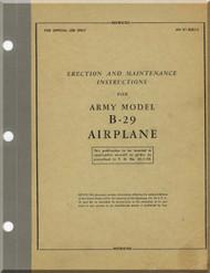 Boeing B-29 Aircraft Erection and Maintenance Manual   Manual -  T.O. 01-20EJ-2 ,   1944