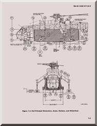 Sikorsky S-64 CH-54 B Helicopter  Maintenance Manual  55-1520-217-23-2-2-1