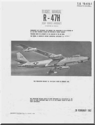 Boeing R-47 H Aircraft Flight Handbook Manual -  T. O. 1R-47B-1  ,   1962
