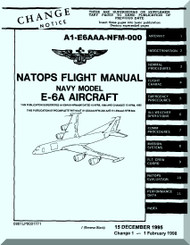 Boeing E-6A   Aircraft    Flight  Manual - A1-E6AAA-NFM-000 -1995