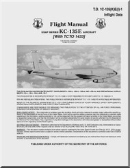 Boeing  KC-135 E Aircraft Flight Manual - T.O. 1C-135(K)E(I)-1
