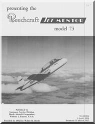 Beechcraft 73 Jet Mentor Aircraft Flight  Manual