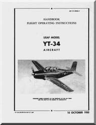 Beechcraft YT-34  Aircraft  Flight  Manual  , 1954