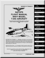 Beechcraft T-34 C  Aircraft  Flight  Manual -