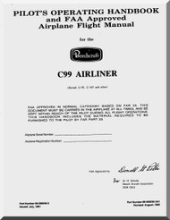 Beechcraft C 99 Aircraft  Pilot's Operating Handbook Airplane Flight  Manual -