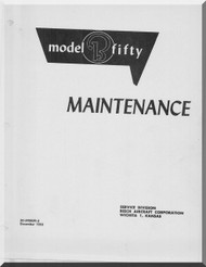 Beechcraft B 50 Aircraft Maintenance Manual