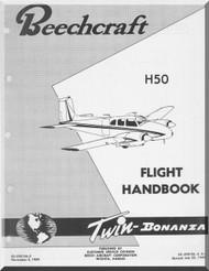 Beechcraft H 50 Aircraft Flight Manual Handbook