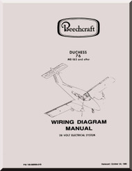 Beechcraft    Duchess 76 Me1 thu Me182    Aircraft       Wiring       Diagrams    Manual      Aircraft    Reports