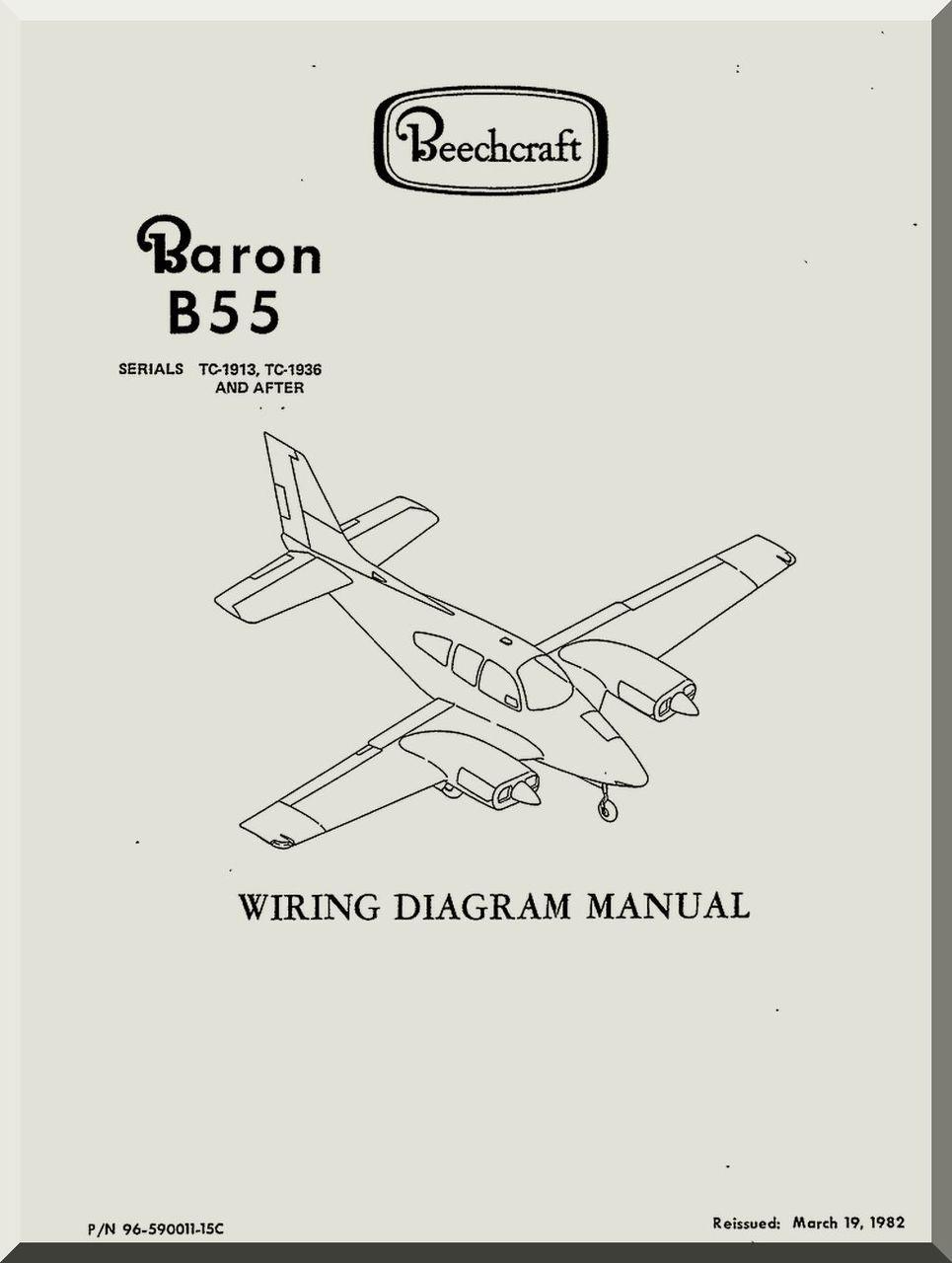 beechcraft baron b 55 aircraft wiring diagram manual aircraft rh aircraft reports com  aircraft wiring diagram manual definition