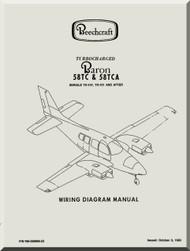 Beechcraft Baron 58 Aircraft Wiring Diagram Manual