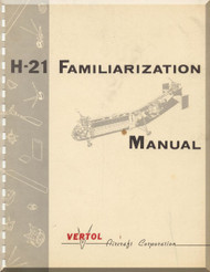 Piasecki  H-21 Helicopter Familiarization Manual - 1957