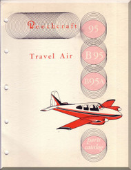 Beechcraft  95 B 95  Travel Air Aircraft  Illustrated Parts Catalog Manual -
