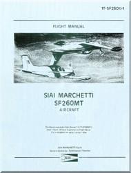 SIAI Marchetti SF-260 MT Aircraft Flight Manual -1T-SF260 ()-1