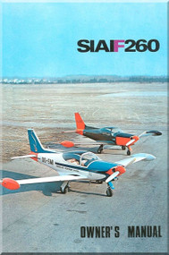 SIAI Marchetti SF-260 Aircraft Owner  Manual -