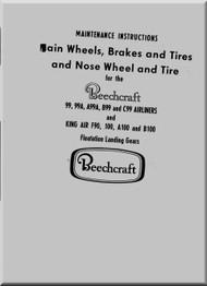 Beechcraft 99 Maintenance Instruction Manual -