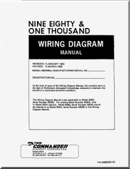 Aero Commander 695 A  Aircraft Wiring Diagram Manual