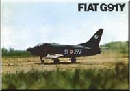 FIAT Aircraft G.91 Y Technical Brochure  Manual
