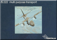 Aeritalia / FIAT Aircraft G.222 Technical Brochure  Manual   - 1978