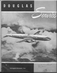 Douglas  Aircraft Service Digest  -  November- December - 1956