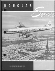 Douglas  Aircraft Service Digest  -  November- December - 1955