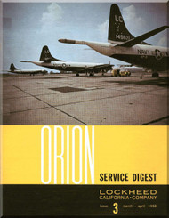 Lockheed Orion  Aircraft Service Digest  - 3 -  March April  - 1963