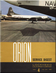 Lockheed Orion  Aircraft Service Digest  - 4 -  May June - 1963