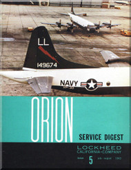 Lockheed Orion  Aircraft Service Digest  - 5 -  July August - 1963