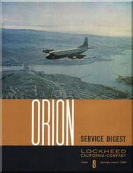 Lockheed Orion  Aircraft Service Digest  - 8 -  January February - 1964