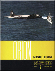 Lockheed Orion  Aircraft Service Digest  - 9 -  April June - 1964