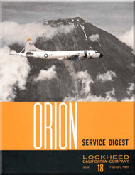 Lockheed Orion  Aircraft Service Digest  - 18 -  February  -  1968