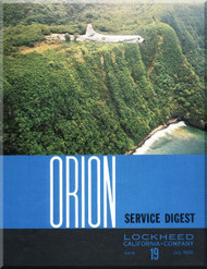 Lockheed Orion  Aircraft Service Digest  - 19 -  July -  1968
