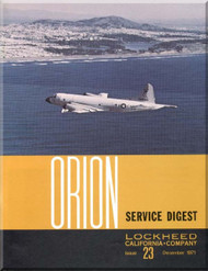 Lockheed Orion  Aircraft Service Digest  - 23 -  December -  1971