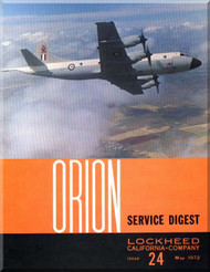 Lockheed Orion  Aircraft Service Digest  - 24 -  May -  1972