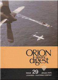 Lockheed Orion  Aircraft Service Digest  - 29 -  January -  1975