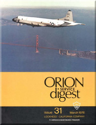 Lockheed Orion  Aircraft Service Digest  - 31 -  March -  1976
