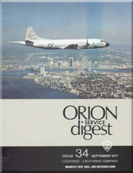 Lockheed Orion  Aircraft Service Digest  - 34 -  September -  1977