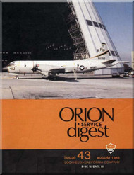 Lockheed Orion  Aircraft Service Digest  - 43 -  August -  1985