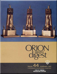 Lockheed Orion  Aircraft Service Digest  - 44  -  February -  1987